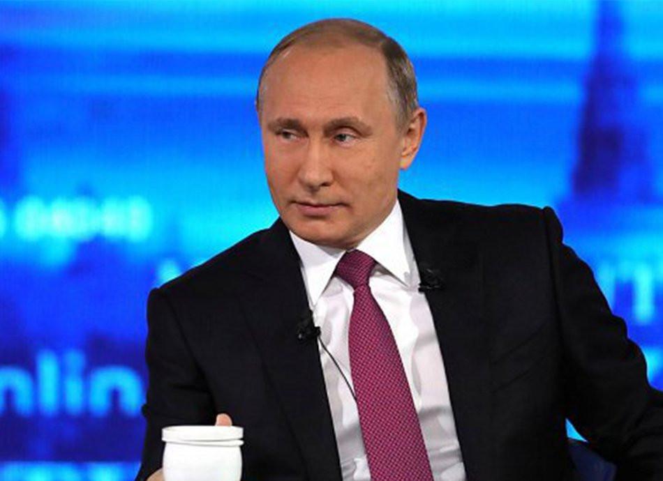 Путина предложили изобразить на пятитысячной купюре