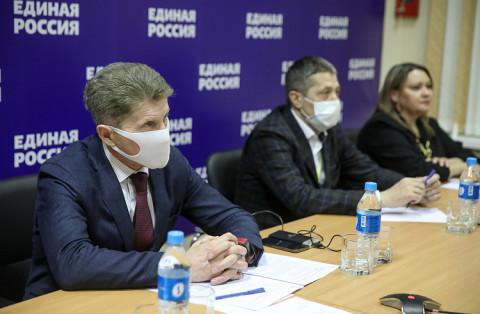Олег Кожемяко: Волонтеры Приморья проделали исключительную работу в период пандемии