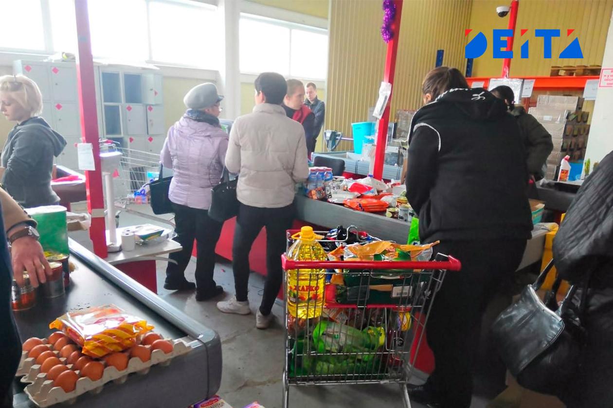 Россияне бросились скупать хлеб, муку и гречку