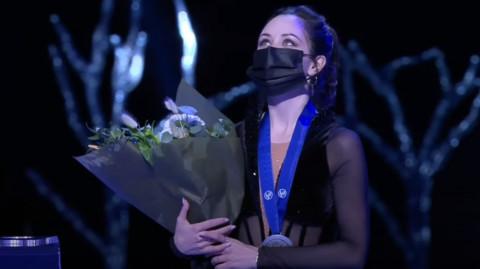 Российские фигуристки заняли все призовые места на ЧМ и покорили Instagram