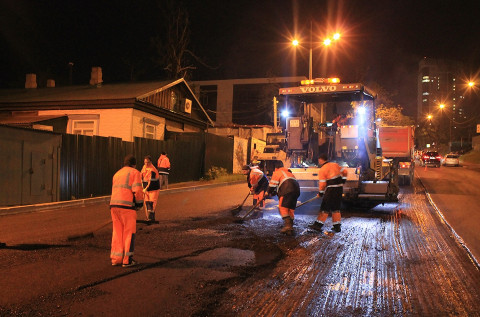 Гарантийный ремонт дорог проводят подрядчики во Владивостоке