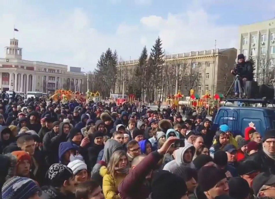 «В Москве испугались расползания протеста» - Гращенков