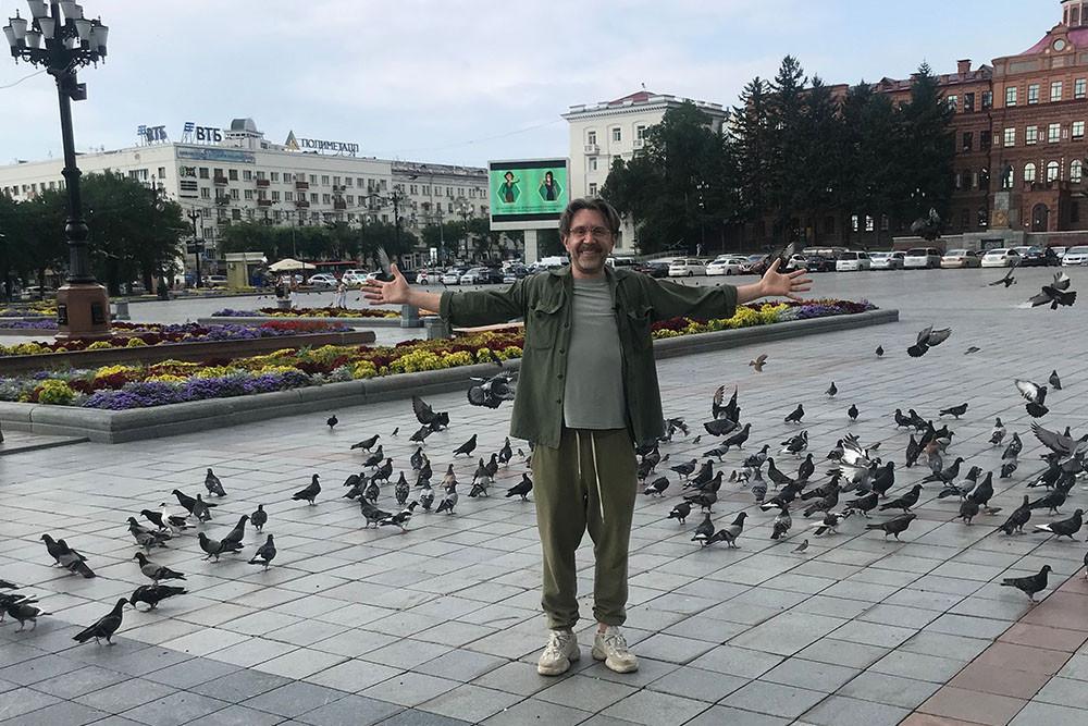 Шнуров властям Хабаровска: «Готовьтесь, пугайтесь, бойтесь»