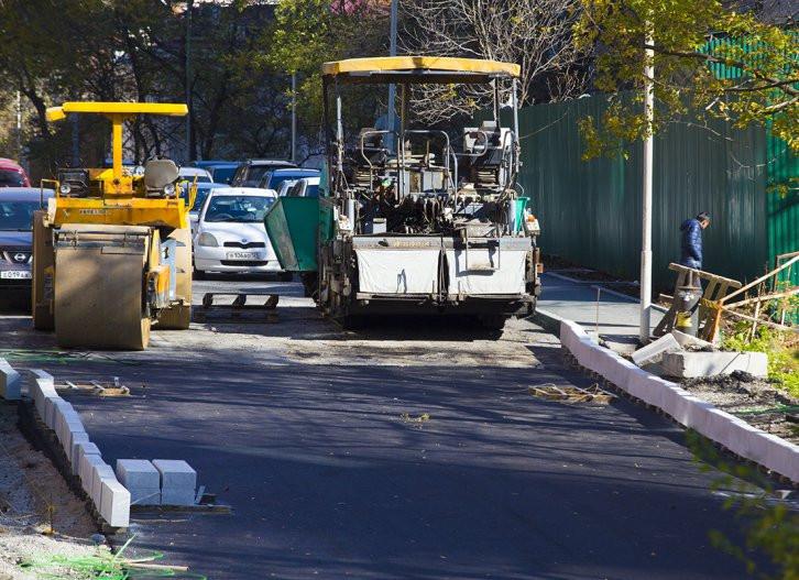 Названы дороги, которые будут ремонтировать во Владивостоке в следующем году