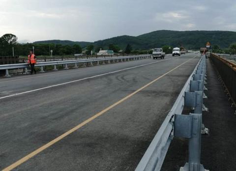 Ремонт еще одного моста завершили в Приморье