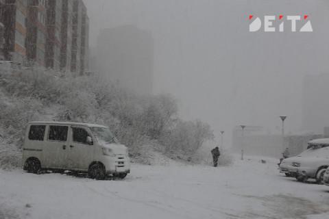 Снег и морозы обещают приморцам синоптики