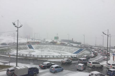 Дорожная ситуация во Владивостоке стабилизировалась, но не везде