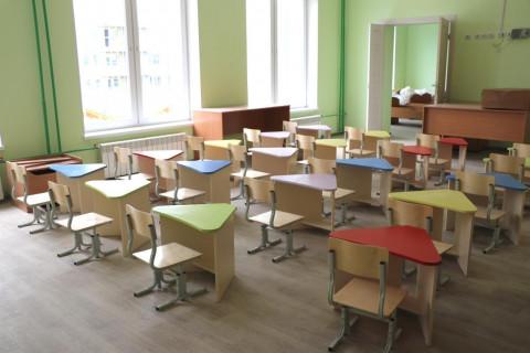 Мебель начали устанавливать в новом детском садикев Уссурийске