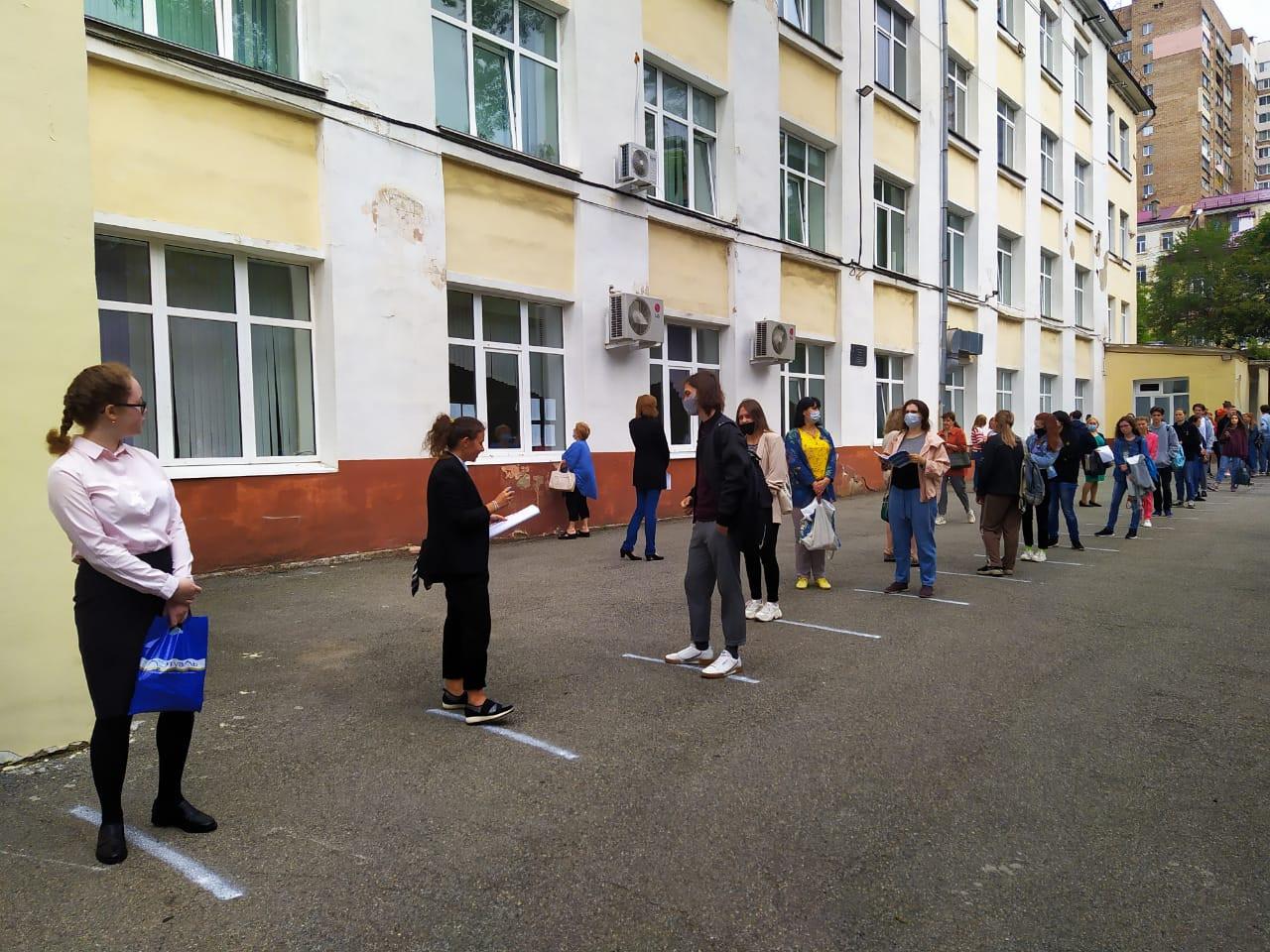 Приморские школьники завершили сдачу ЕГЭ