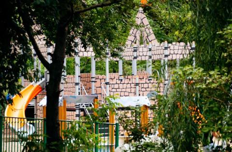 Детскую площадку открыли по улице Шошина во Владивостоке
