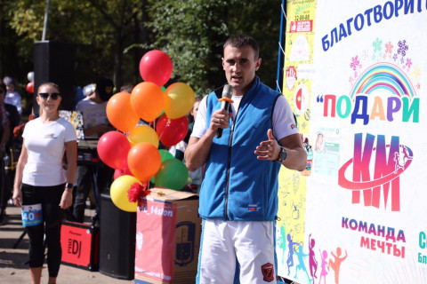 Чемпион мира принял участие в благотворительном забеге в Приморье