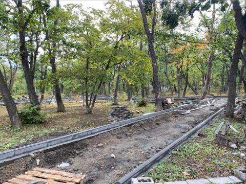 Покровский парк во Владивостоке капитально отремонтируют