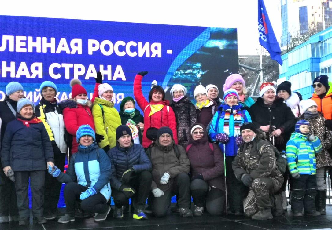 Приморье отметило День зимнего плавания вместе с «Единой Россией»