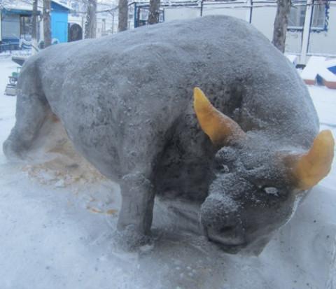 Снеговики колымских сидельцев поразили авторитетное жюри