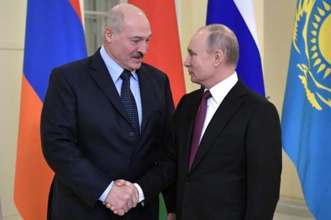Путин и Лукашенко начали переговоры