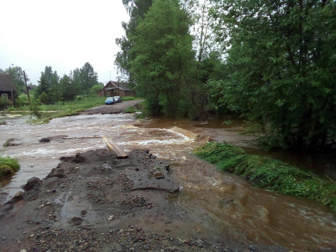 Проезда нет: новый список подтопленных дорог в Приморье