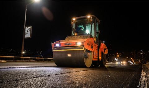 Количество техники и рабочих увеличено на ремонте Некрасовского путепровода