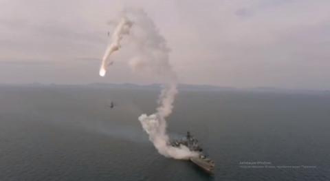 Неудачный пуск ракеты произошел в Японском море