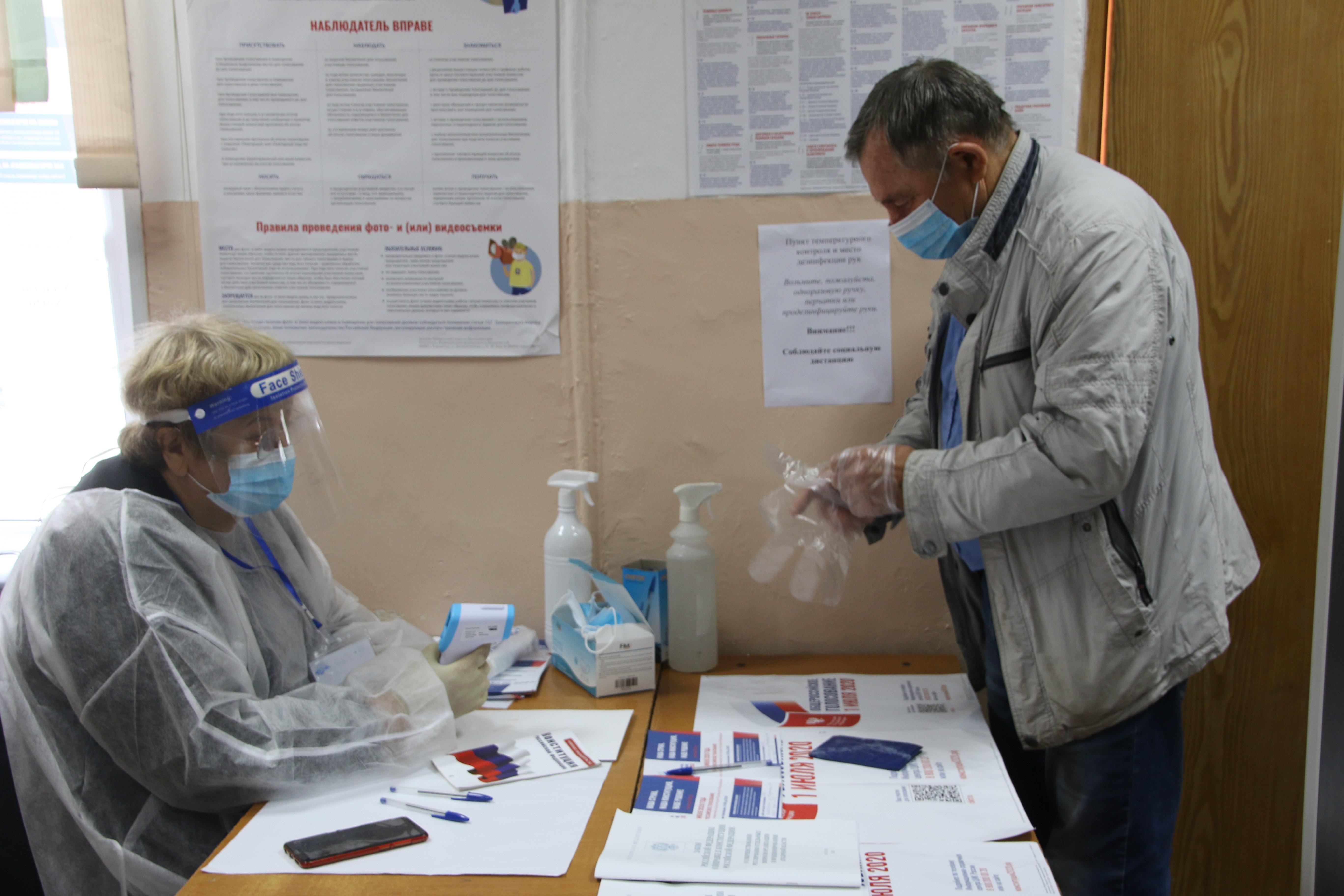 За первые дни плебисцита по поправкам в Приморье не выявлено нарушений