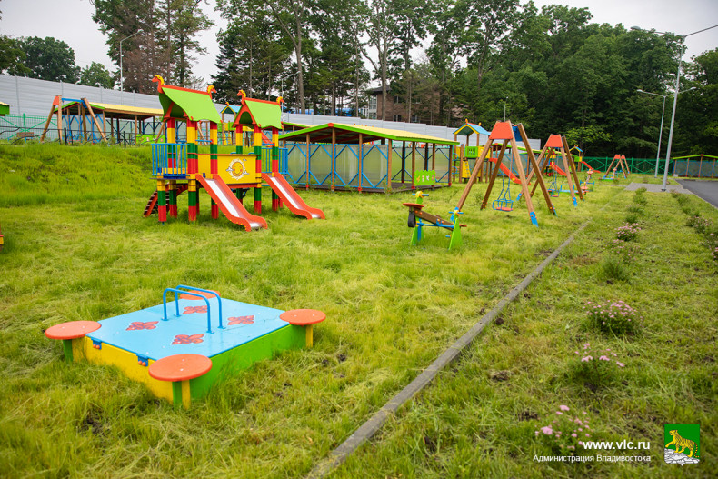 Новый детский сад в пригороде Владивостока готовится к открытию