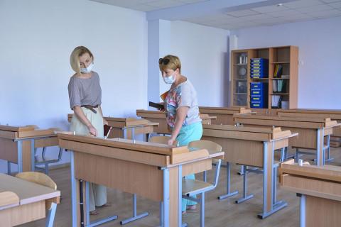 Приёмка школ к новому учебному году идет в Приморье