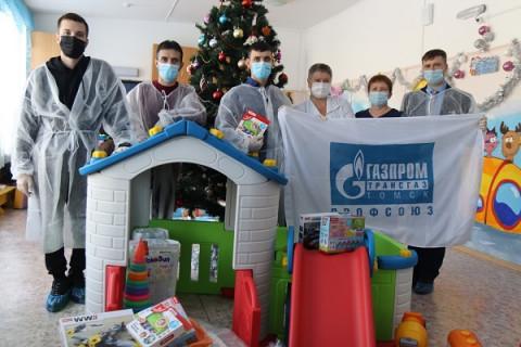 Газовики поздравили воспитанников уссурийского дома малютки