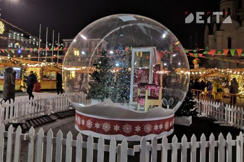Владивосток встречаетНовый год праздничными гуляниями